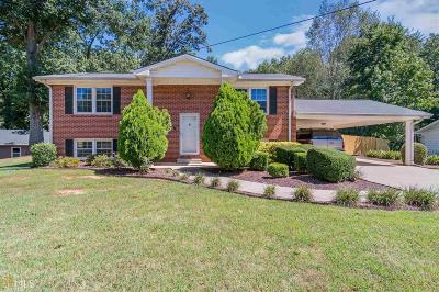 Kennesaw GA Single Family Home Under Contract: $190,000