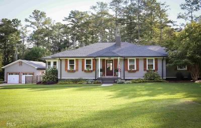 Newnan Single Family Home Under Contract: 1496 Welcome Rd