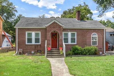 Hapeville Single Family Home New: 3413 Hamilton Ave