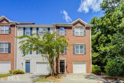 Norcross Condo/Townhouse Under Contract: 5347 Beaver Br