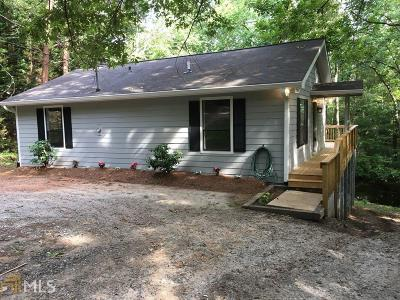 Dawsonville Single Family Home New: 962 Overlook Dr