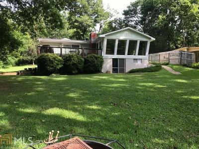 Greensboro, Eatonton Single Family Home For Sale: 153 Little Riverview Rd
