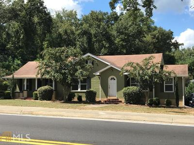 Milledgeville Single Family Home New: 1675 Irwinton Rd