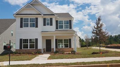 Newnan Single Family Home Under Contract: 122 Hood Park Dr #144