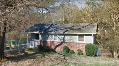 Fulton County Single Family Home New: 1559 Ferno Dr
