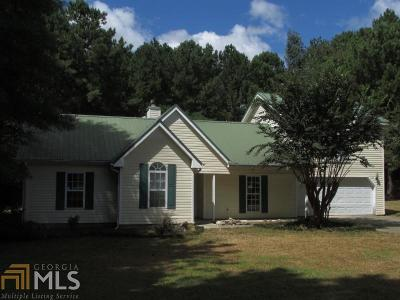 Monroe Single Family Home Under Contract: 2551 Bradley Gin Rd