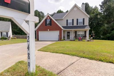 Dacula Single Family Home New: 2489 Heatherton Ct