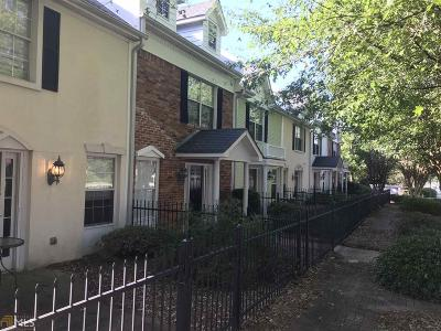 Fayetteville Condo/Townhouse Under Contract: 502 N Jeff Davis Dr