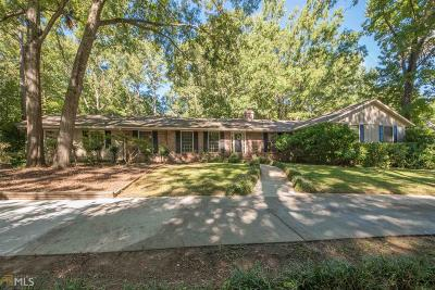 Peachtree City Single Family Home Back On Market: 9 Perthshire Dr
