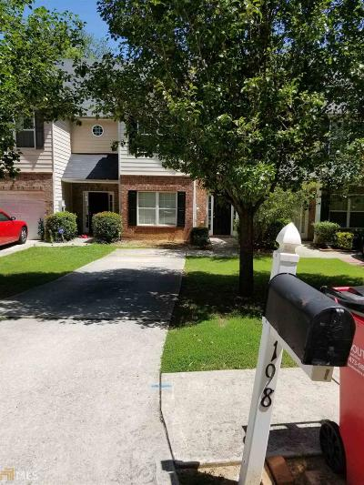 Clayton County Condo/Townhouse New: 198 Brookview Dr
