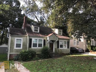 East Point Single Family Home Under Contract: 1884 Spring