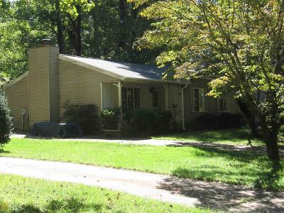 Roswell Single Family Home Under Contract: 225 Hembree Forest Cir