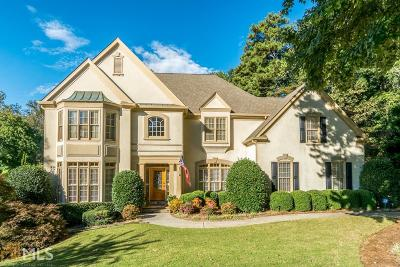 Johns Creek Single Family Home New: 10280 Oxford Mill Cir