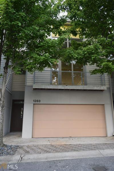 Atlanta Condo/Townhouse New: 1260 NW Van Allen Mews