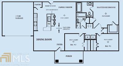 Dawsonville Single Family Home New: 121 Angela Ln