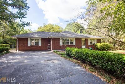 Clayton County Single Family Home Under Contract: 2603 Lake Harbin Rd