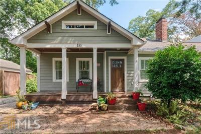 Dekalb County Single Family Home Under Contract: 185 Mellrich Ave