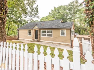 Atlanta Single Family Home New: 1823 Defoor Ave