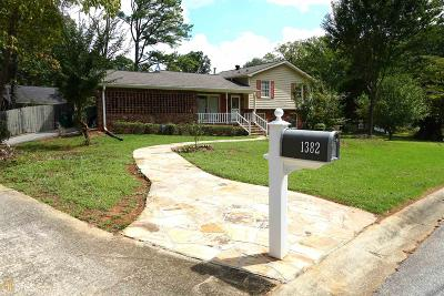 Tucker Single Family Home New: 1382 Drayton Woods Dr