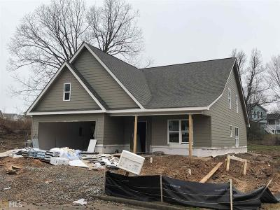 Statham Single Family Home New: 1248 Oak Springs Way