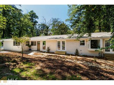 Atlanta Single Family Home New: 4639 Briarcliff Rd