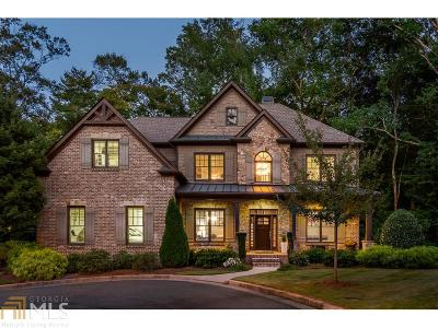 Atlanta Single Family Home New: 4615 Peachtree Dunwoody Rd