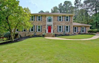 Peachtree City Single Family Home Under Contract: 108 Stonington Dr