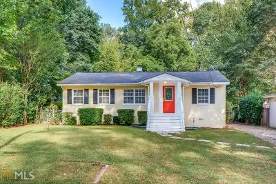 Atlanta Single Family Home New: 233 Murray Hill