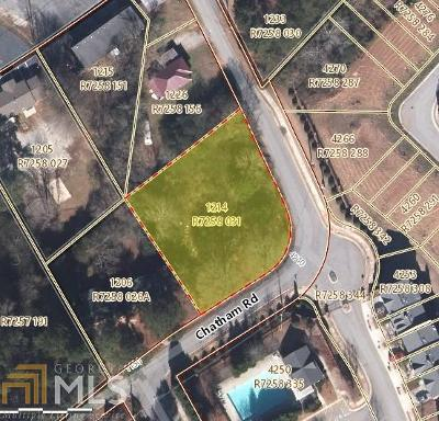 Buford Residential Lots & Land For Sale: 1214 Chatham Rd