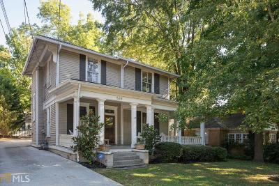 Atlanta Single Family Home New: 568 St Charles Ave