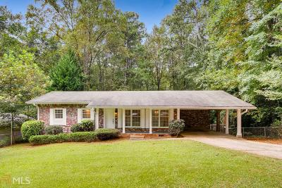 Tucker Single Family Home Under Contract: 4371 N Park