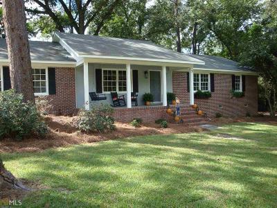 Statesboro Single Family Home New: 3 Jef Rd