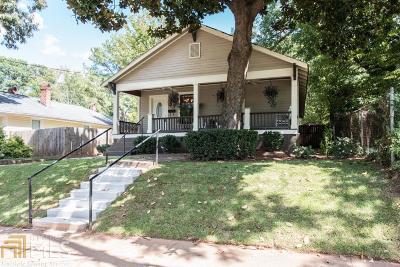 Atlanta Single Family Home New: 205 Mayson Ave