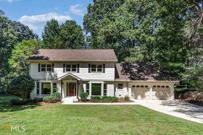 Marietta Single Family Home For Sale: 3395 Indian Hills Dr