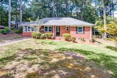 Cobb County Single Family Home New: 2871 Ivanhoe Ln