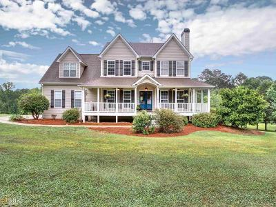 Newnan Single Family Home New: 1545 Smokey Rd
