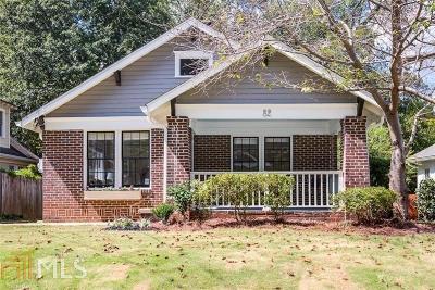 Atlanta Single Family Home New: 82 Lakeview Dr