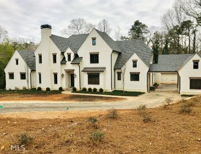 Atlanta Single Family Home New: 5315 Riverview Rd