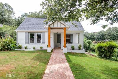 Atlanta Single Family Home New: 1031 E Confederate Ave