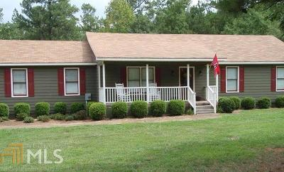 Social Circle Single Family Home Under Contract: 3160 Mt Paran Church Rd