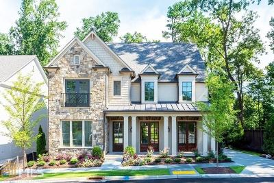 Atlanta Single Family Home New: 290 Chastain Park Dr