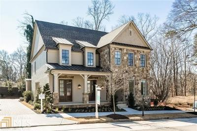 Atlanta Single Family Home New: 4706 Wieuca Rd