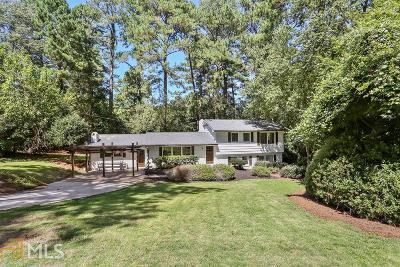 Atlanta Single Family Home New: 897 Wesley Dr