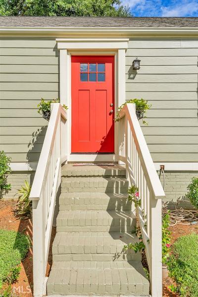 Decatur Single Family Home New: 588 Ashburton Ave