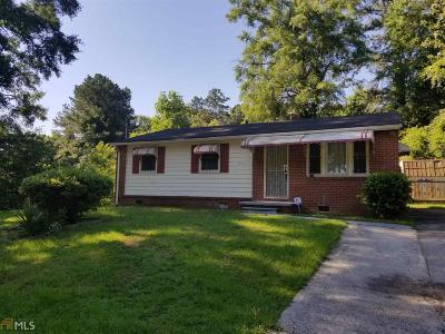 Atlanta Single Family Home New: 898 Fairburn Rd