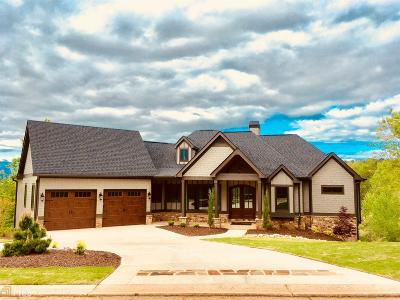 Stephens County Single Family Home New: 1282 Currahee Club Dr