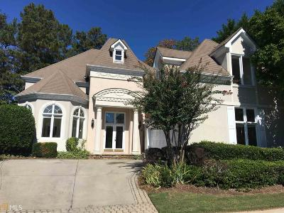 Roswell Single Family Home Under Contract: 620 River Falls Ct