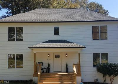 Dekalb County Single Family Home New: 676 Pasley Ave