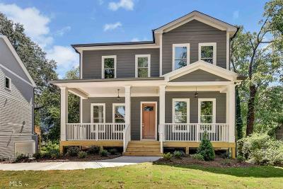 Atlanta Single Family Home New: 905 Emerson Avenue