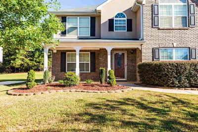 Clayton County Single Family Home New: 2872 Ellenwood Village Way